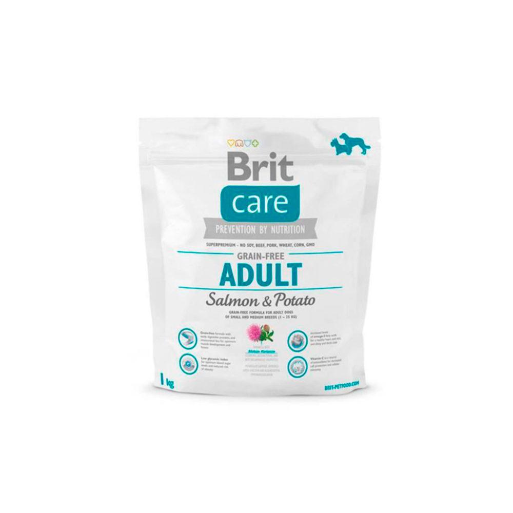 BRIT CARE GRAIN-FREE ADULT SALMON & POTATO