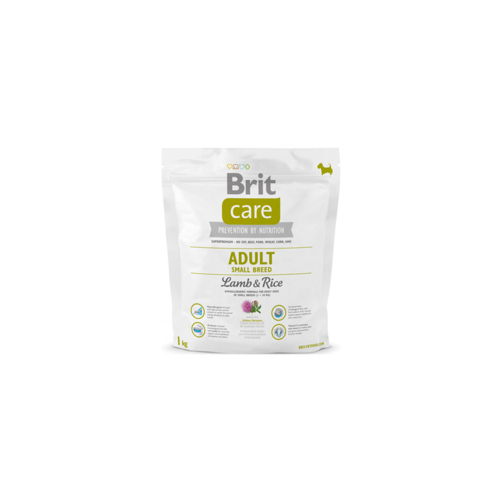 BRIT CARE ADULT SMALL BREED L&R