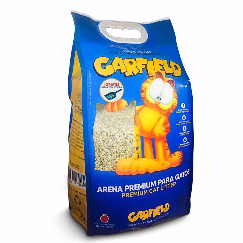 ARENA PREMIUM P/GATOS GARFIELD