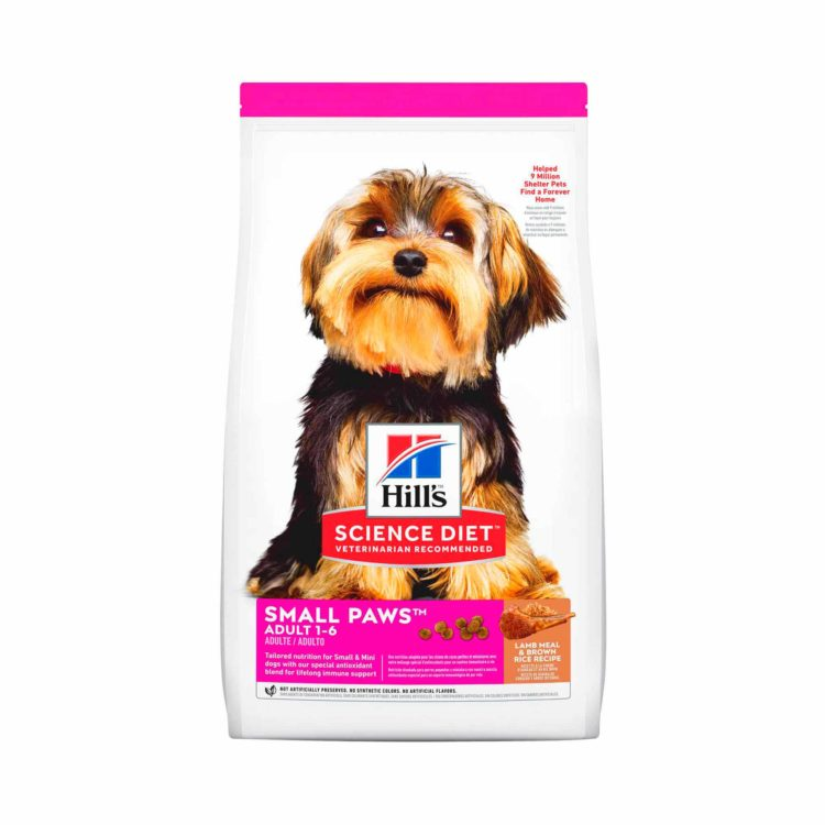 HILL'S® SCIENCE DIET®CANINE ADULT L&R SMALL PAWS