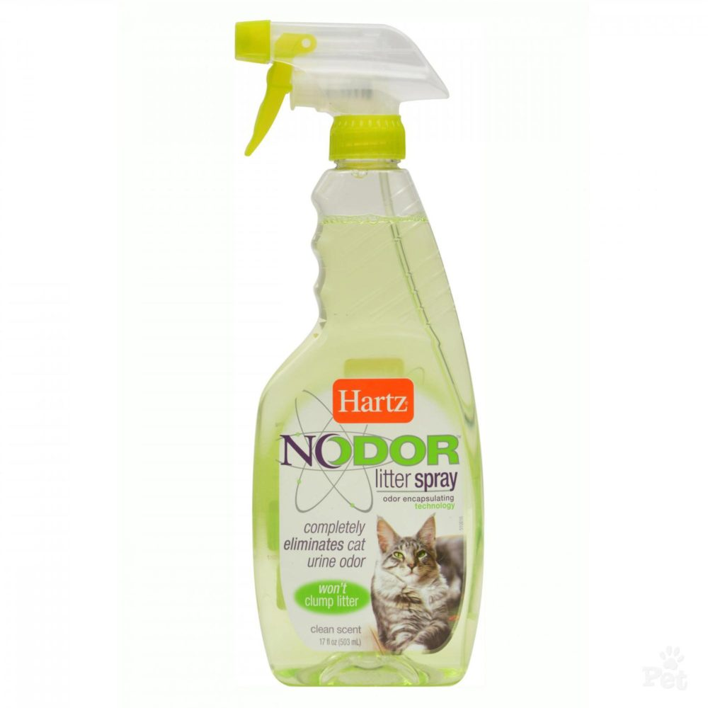 HARTZ NODOR LITTER SPRY SCNTED 17 OZ