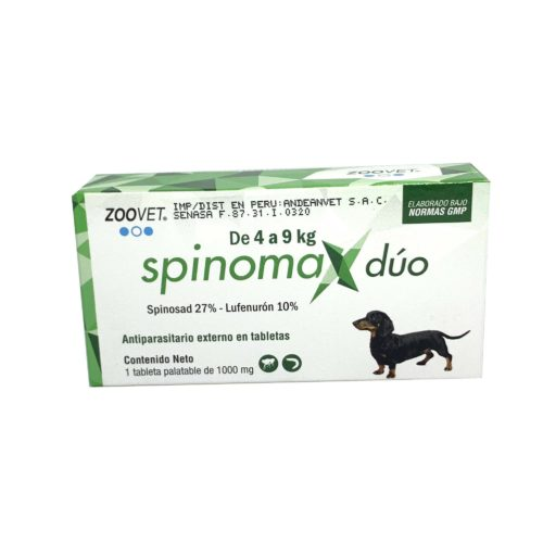 SPINOMAX DUO 4 A 9 KG