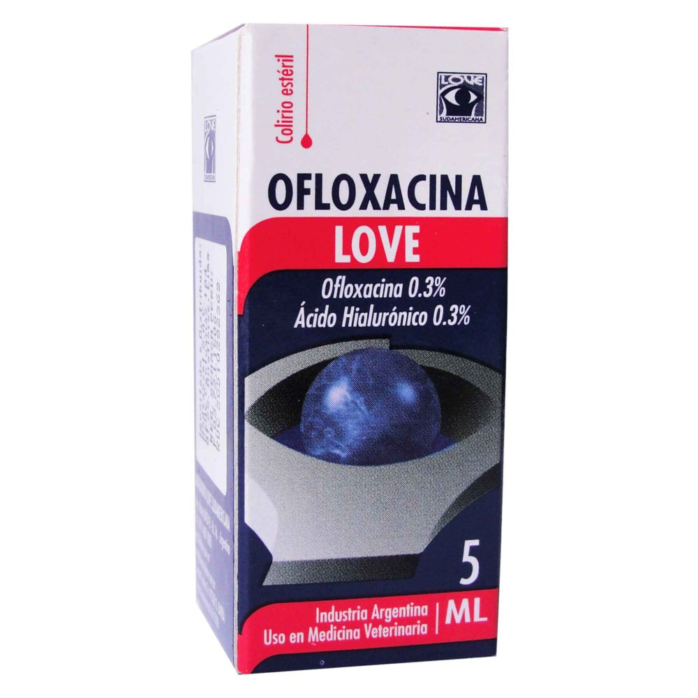 OFLOXACINA LOVE X 5 ml