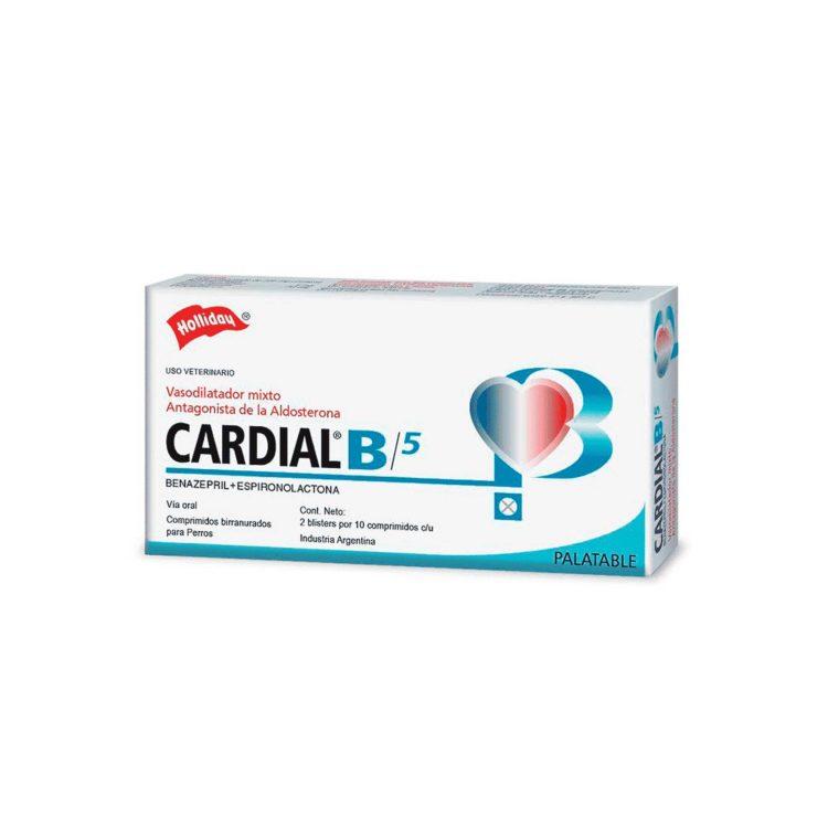 CARDIAL B 5MG 20COMP