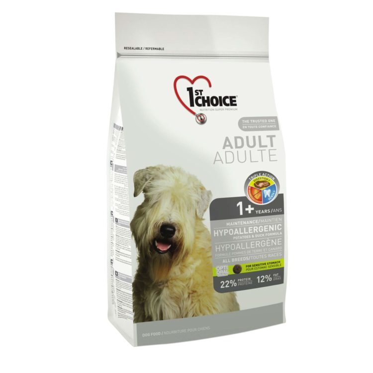 1ST CHOICE DOG ADULT HYPOALLERGENIC ALL BREEDS