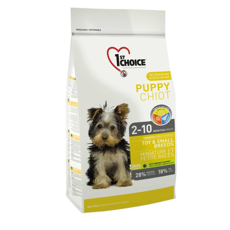 1ST CHOICE DOG PUPPY TOY AND SMALL BREEDS