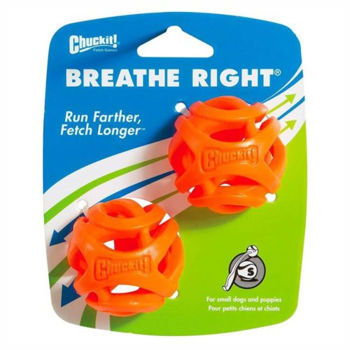CHUCKIT! BREATHE RIGHT FETCH BALL 2-PACK