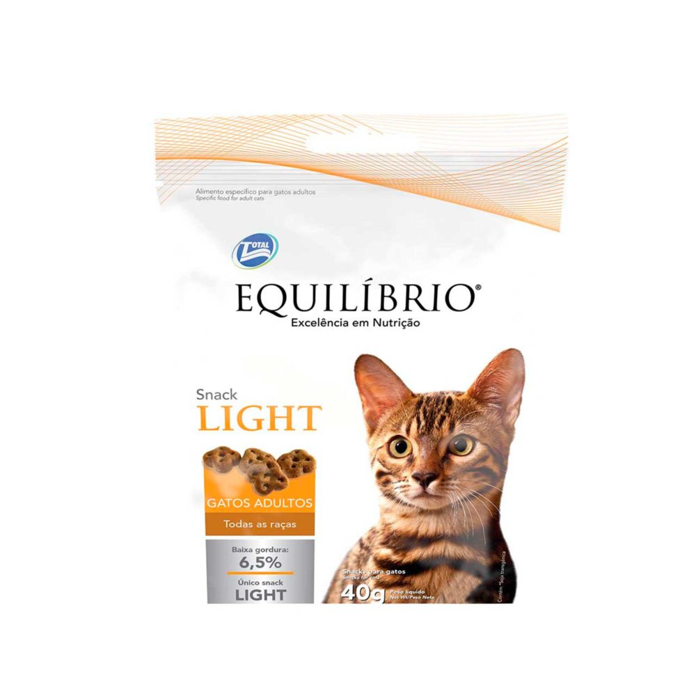 EQUILIBRIO SNACK LIGHT ADULT CATS ALL BREEDS