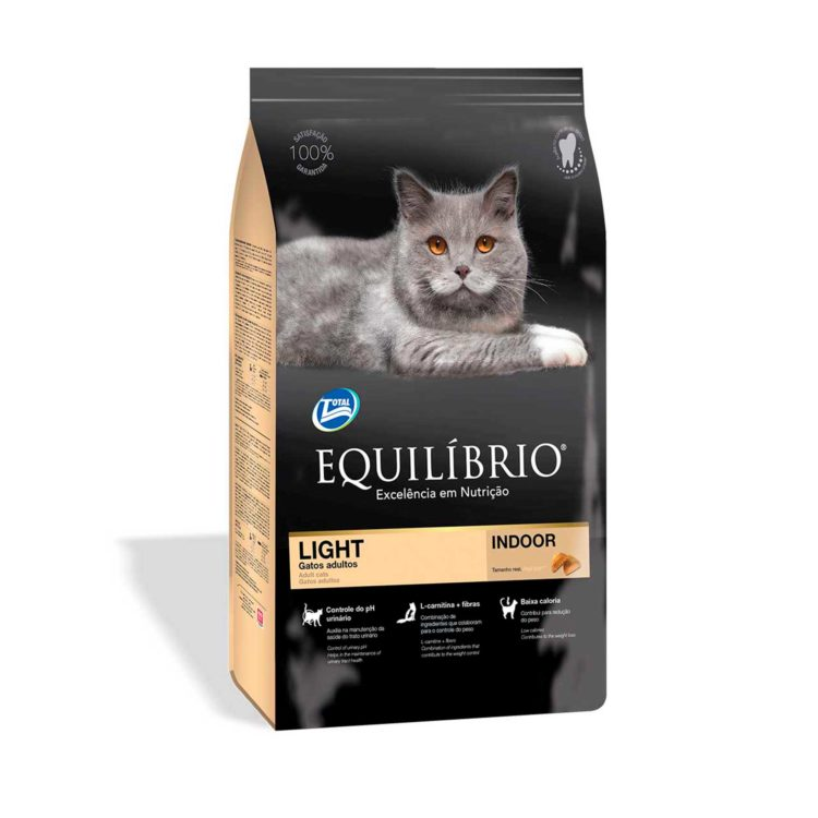 EQUILIBRIO ADULT CATS LIGHT ALL BREEDS