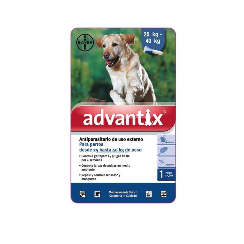 ADVANTIX 1 X 4.0 ML (MAS DE 25 KG) (AZUL)