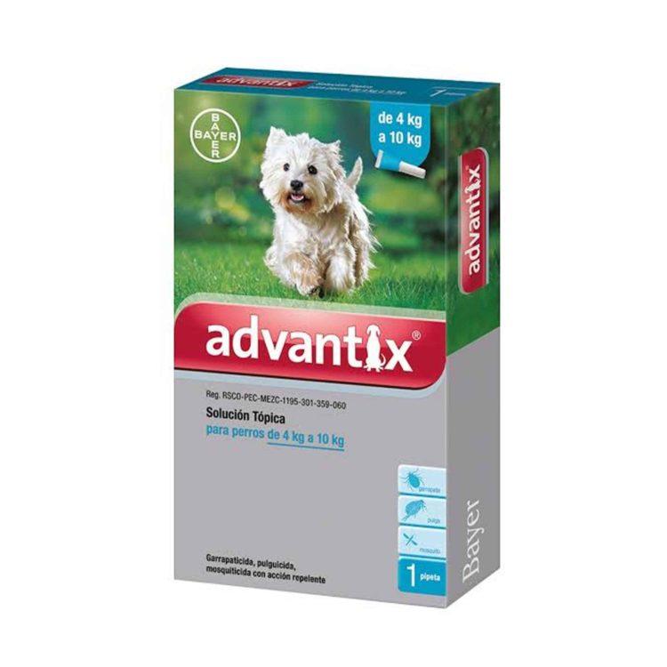ADVANTIX 1 X 1.0 ML (4-10 KG) (CELESTE)