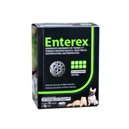 ENTEREX CAJA X 10 SOBRES X 8G