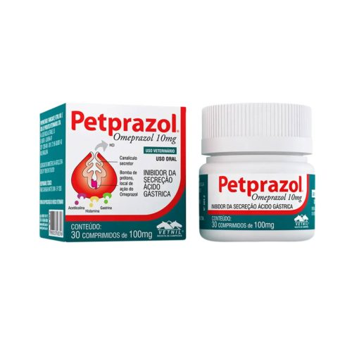 PETPRAZOL 10 MG X TABLETA