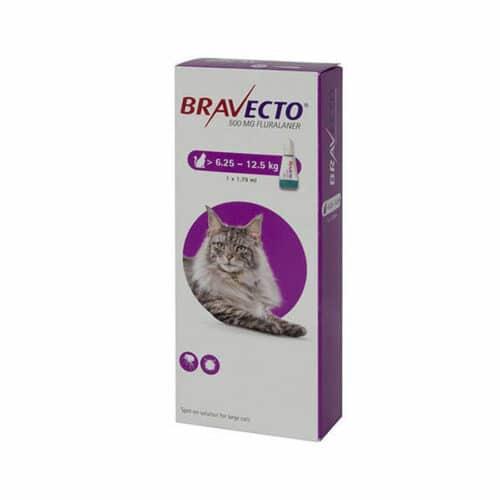BRAVECTO 500mg. SPOT-ON CATS
