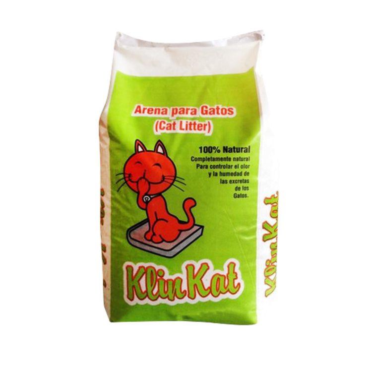 Arena para Gatos KLINKAT 100% Natural | MascotaVeloz