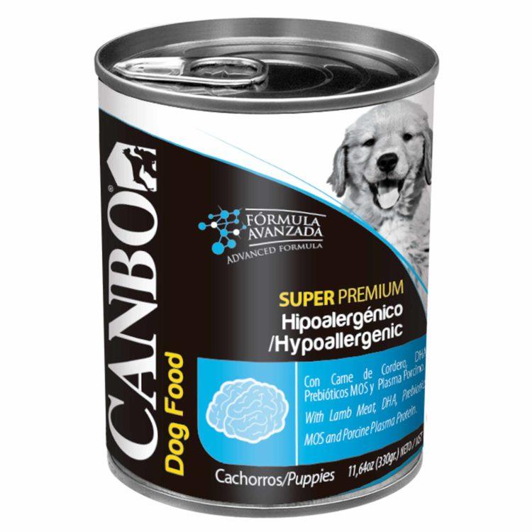 Canbo Super Premium Cachorro Hipoalergenico Pate   MascotaVeloz
