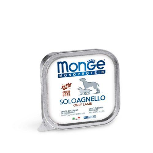 MONGE CANINE ADULT MONOPROTEIN CORDERO LATA
