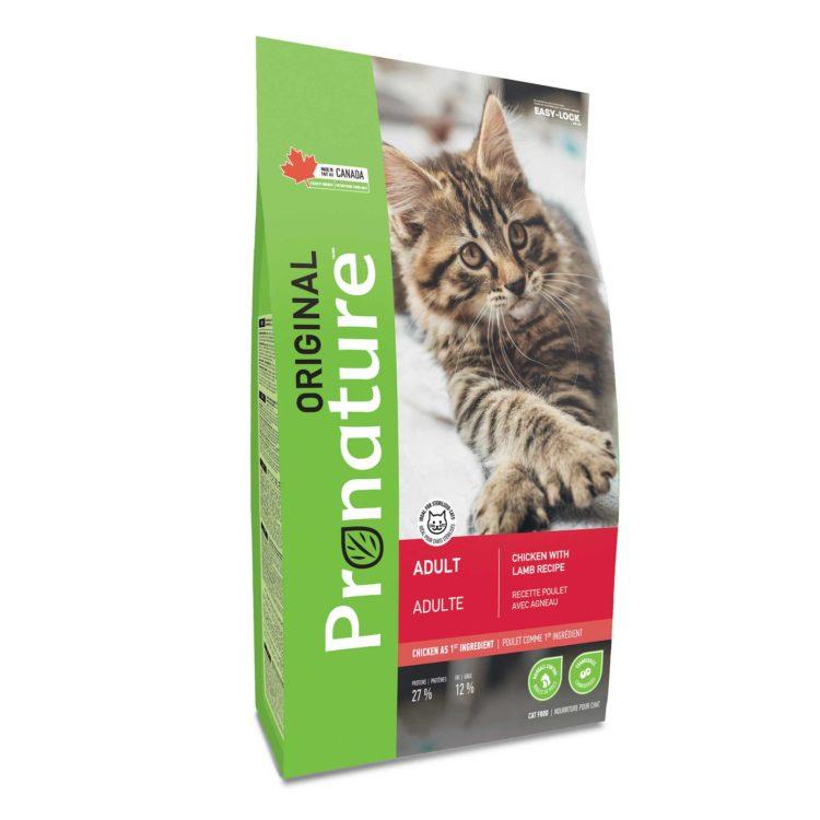 Pronature Original Alimento Para Gatos Adultos   Mascota Veloz