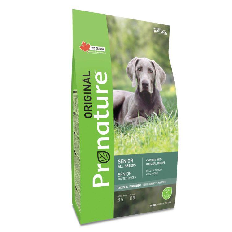 Pronature Original Alimento Para Perros Mayores   Mascota Veloz