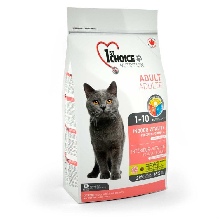 1st Choice Adult Indoor Gato | Mascota Veloz