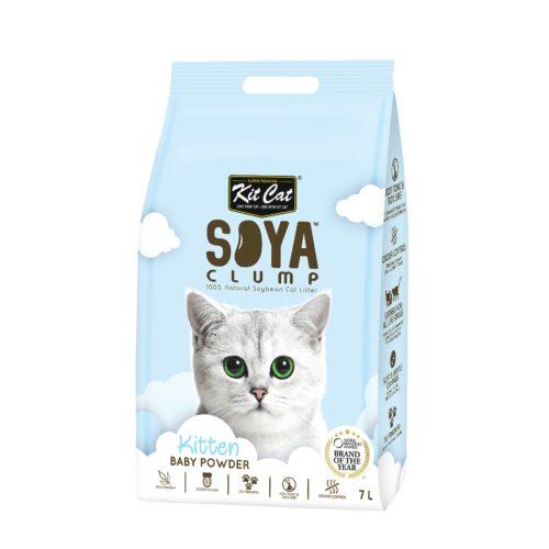 Kit Cat Soya clump Baby Powder   Mascota Veloz