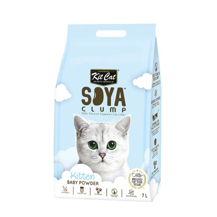 Kit Cat Soya clump Baby Powder | Mascota Veloz