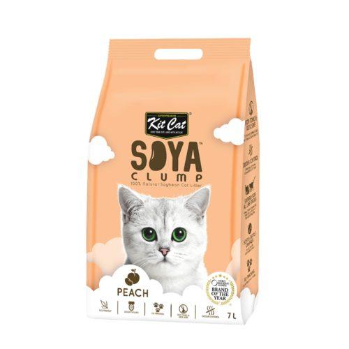 Kit Cat Soya clump Peach   Mascota Veloz