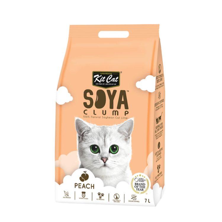 Kit Cat Soya clump Peach | Mascota Veloz