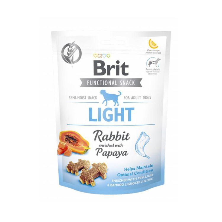 Brit Care Dog Functional Snack Light Rabbit 150 Gr | MascotaVeloz