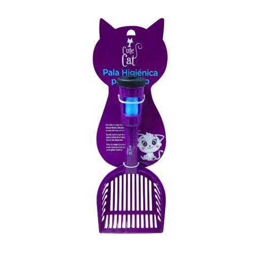 Cute Cat | Pala Morada | MascotaVeloz