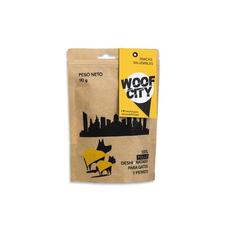 Woof City Pollo | Mascota Veloz