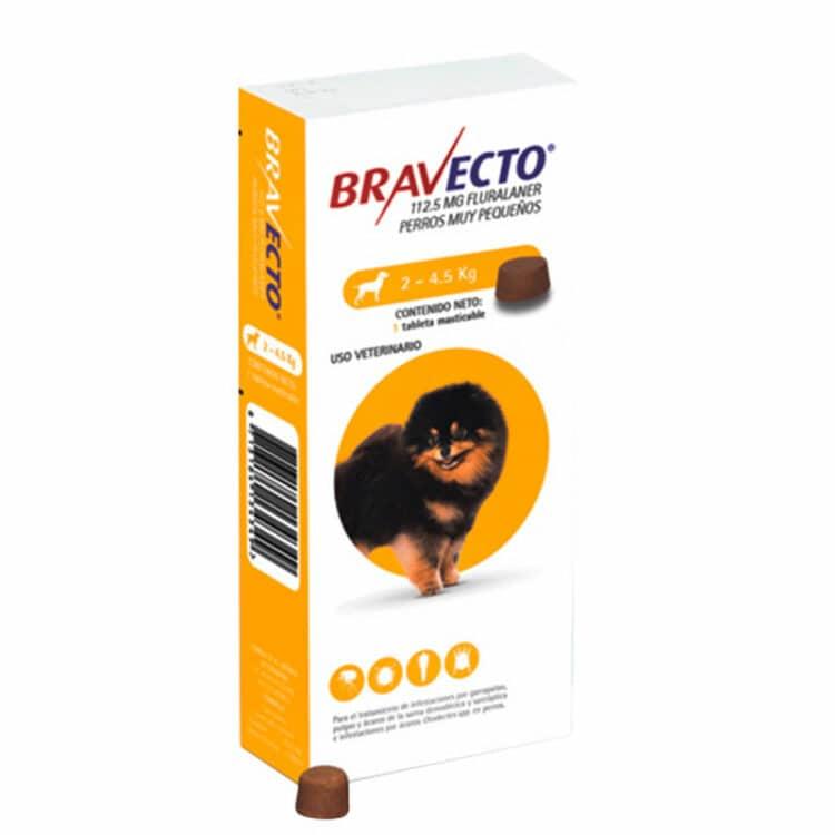 BRAVECTO 112.5MG ( 2KG - 4.5KG )